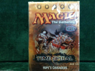 "MAGIC THE GATHERING TIME SPIRAL ""HOPES CRUSADE"" THEME DECK"