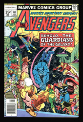 AVENGERS #167 GUARDIANS OF THE GALAXY NM OR BETTER