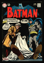 BATMAN #212 LAST 12 CENTS ISSUE, BLACK COVER FINE/VERY FINE