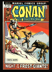 CONAN THE BARBARIAN #16 NM- BARRY WINDSOR-SMITH, FROST GIANTS