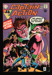 CAPTAIN ACTION #5 DC SILVER AGE THE ORIGINAL TOY TIE-IN
