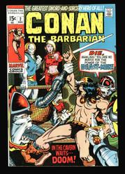 CONAN THE BARBARIAN #2 VF/NM BARRY WINDSOR-SMITH, ROY THOMAS
