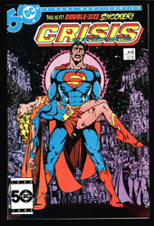 CRISIS ON INFINITE EARTH #7 DEATH OF SUPERGIRL ! HIGH GRADE, KEY ISSUE