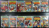 HELLSTROM ! SON OF SATAN LOT, MARVEL PREMIERE #'s 13-24 GHOST RIDER 12 ISSUES