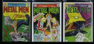 METAL MEN LOT#10, #22, #29 SILVER AGE DC HEROES !!