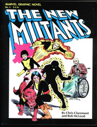 NEW MUTANTS MARVEL GRAPHIC NOVEL #4 (1ST APP) NM CONDITION! LOOK !