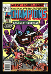 THE CHAMPIONS #15, #16, #17 THE LAST 3 ISSUES IN HIGH GRADE FROM NM TO NM/MINT