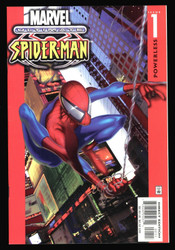 ULTIMATE SPIDER-MAN #1 & #2 FIRST PRINT NM- TO NM FOR #1