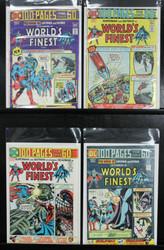 WORLD'S FINEST COMICS #'s 224,225,227,228 SUPER SPECTACULARS , SUPERMAN, BATMAN