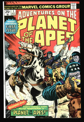 ADVENTURES ON THE PLANET OF THE APES #1 HIGH GRADE COPY GET IT GRADED !