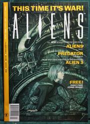 ALIENS UK COMIC MAGAZINE VOL2 NO 1 LOT (5 COPIES) EXCELLECT CONDITION