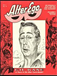 ALTER EGO VOL. 1 #10 1969 FANZINE, GIL KANE, ROY THOMAS, STERANKO, KUBERT