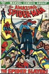 AMAZING SPIDER-MAN #105, #106 1972 BRONZE AGE SPIDEY ACTION FINE/VERY FINE