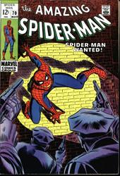 AMAZING SPIDER-MAN #70 1969 NM 1ST VANESSA FISK SILVER AGE
