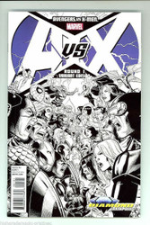 AVENGERS VS X-MEN #1 Strict NM/M UNGRADED 5 CNT LOT SKETCH COVER VARIANT ED