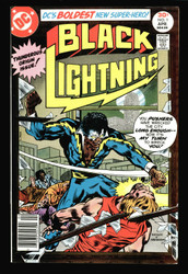 BLACK LIGHTNING #1, STAR OF HIS OWN CWTV SHOW IN NM CONDITION