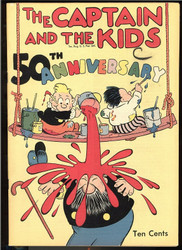 Captain and the Kids 50th Anniversary comic 1948 RAW 7.0 10 cent cover