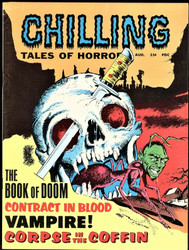 CHILLING TALES OF HORROR #2, 3, AUGUST/OCTOBER 1969 STANLEY PUBLICATIONS
