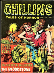 CHILLING TALES OF HORROR VOLUME 1 #1 STANLEY PUBLICATIONS 1969