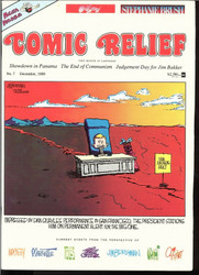 COMIC RELIEF MAGAZINE GRAB BAG! LIFE IN HELL CALVIN AND HOBBES FAR SIDE POLITICS
