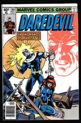 DAREDEVIL #160 BULLSEYE VS BLACK WIDOW ! FRANK MILLER !! ALL IN THIS ISSUE !