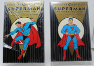 DC ARCHIVED EDITION SUPERMAN VOLUME 1 AND 2 MOSTLY FACTORY SEALED