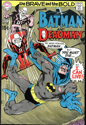 DEADMAN! WITH BATMAN BRAVE AND THE BOLD #86 PLUS CHALLENGERS OF THE UNKNOWN #86