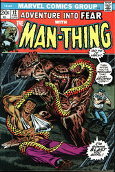 FEAR #12, #13, #15, #16 MAN THING EARLY APPEARANCES
