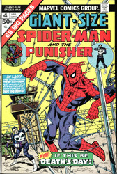 GIANT SIZE SPIDER-MAN #4 3RD APP OF THE PUNISHER, BRONZE AGE HTF IN HIGH GRADE