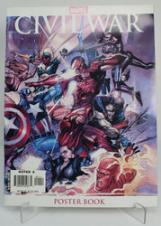 Marvel Civil War Poster Book -- Good Condition