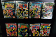 NOVA, MARVEL COMICS LOT SPIDER-MAN,SANDMAN,BRONZE AGE COMICS, MOVIE?