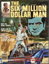 SIX MILLION DOLLAR MAN #1 MAGAZINE, NEAL ADAMS ART AND COVER