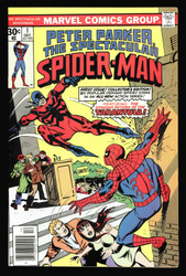 SPECTACULAR SPIDER-MAN #1 VF/NM UNDERRATED BRONZE AGE KEY BOOK LOOK!