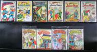 SUPERMAN LOT, JIMMY OLSEN, LOIS LANE, SUPERBOY, SILVER AGE DC 12 CENT COVERS
