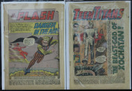 TEEN TITANS #1, FLASH #113 ORIGIN AND 1ST APP. THE TRICKSTER, 2 SILVER AGE