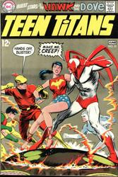 TEEN TITANS #21, 1969 NEAL ADAMS ART, HAWK AND DOVE, SILVER AGE
