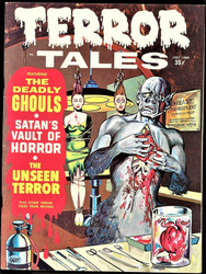 TERROR TALES VOL. 1 #9-10, VOL. 2 #1-2, 1969-1970, EERIE PUBLICATIONS