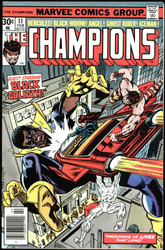 THE CHAMPIONS LOT ISSUES #11 TO 17 -16 JOHN BYRNE, SENTINELS, HIGHER GRADE