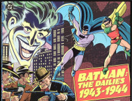 THE JOKER in BATMAN: THE DAILIES VOLUMES 1&2, 1943-1944 AND 1944-1945 SOFTCOVERS