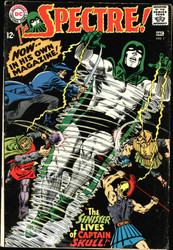 THE SPECTRE #1-5 (1967) NEAL ADAMS VG-FINE SILVER AGE