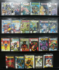 WOLVERINE LOT FROM 1ST SOLO SERIES MUTANT MADNESS ! 23 ISSUES IN ALL!