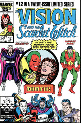 Vision and Scarlet Witch both series, their wedding, and more! WandaVision