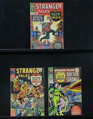 Strange Tales-141,142,150, Dr. Strange, Nick Fury, Silver Age