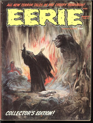 EERIE BY WARREN MAGAZINES 69 ISSUES GREAT LOT! INCLUDES 2-16 PLUS MORE!