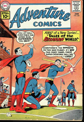 Adventure Comics # 285 1st Tales of the Bizarro World VG