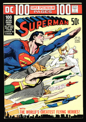 SUPERMAN #252 100 PAGES NEAL ADAMS COVER, SPECTRE, DR. FATE AND HAWKMAN