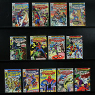 Amazing Spider-Man lot: 13 issues, #175 with the Punisher plus 12 more! F-VF