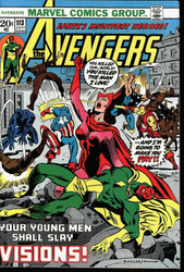 Avengers #113-Scarlet Witch & Vision under fire for Romance, WandaVision NM