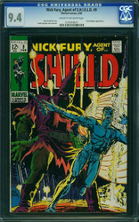NICK FURY AGENT OF S.H.I.E.L.D #9 CGC 9.4 #1216918011