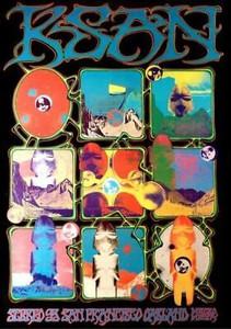 KSAN SF Radio ORIGINAL 1969 AoR #2.254 by Rick Griffin/Alton Kelley MINT